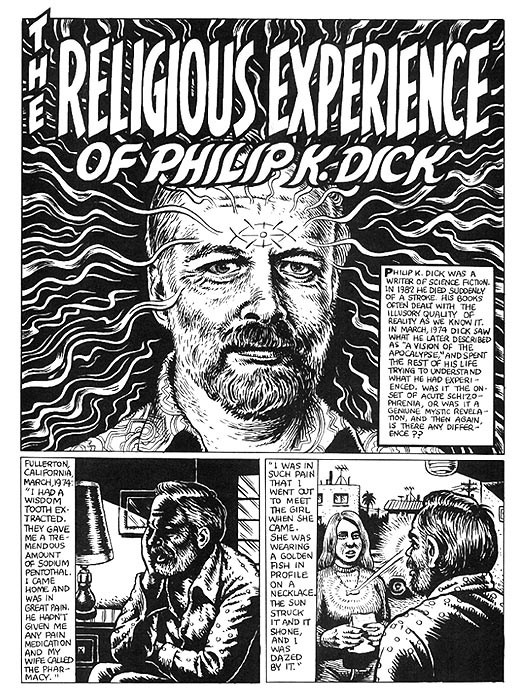 The religious Experience of Philip K Dick
